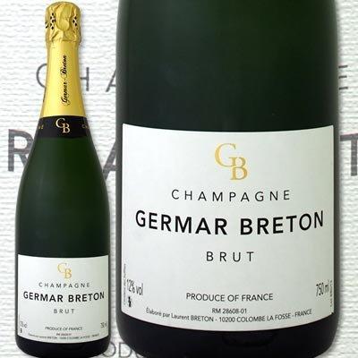 シャンパーニュ・ジェルマール・ブルトン・ブリュット【辛口】【シャンパン】【750ml】【Germar Breton】