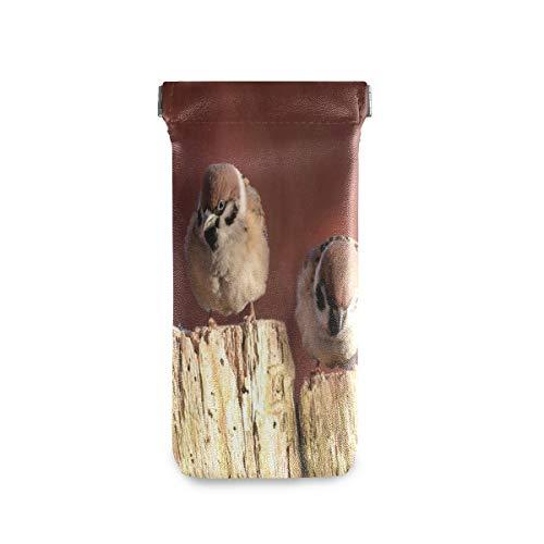 Glasses Pouch Case Sparrows Animal Birds Soft Eyeglass Sunglass Goggles Storage Bag Women Men – The Super Cheap