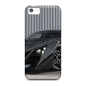 Fashionable Iphone 5c Case Cover For Black Monster Protective Case