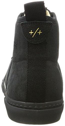 Glos Black Homme Baskets Black Angered Globe II Hautes Schwarz B1dqwX