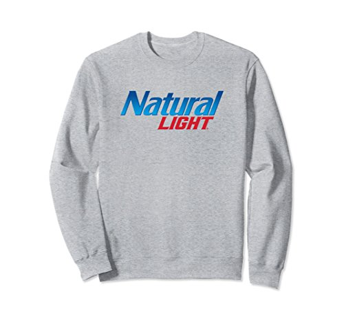 Logo Sweatshirt Small Heather Grey (Logo Natural)