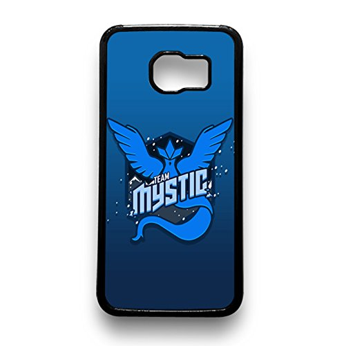 Pokemon Go Team Mystic 2 Case For Phone Case Back - iPhone 6 / iPhone 6S - Black Rubber (How To Transfer Pokemon)