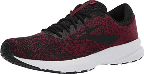 Brooks Men's Launch 6 Red/Black/Grey 13 D US
