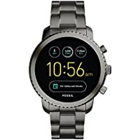 Fossil Q Explorist Gen 3 Black Stainless Steel Bracelet Men's 46mm Touchscreen Smart Watch