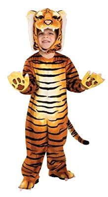 Rubies Silly Safari Tiger Costume - Toddler 1-2 Years from Rubies - Domestic