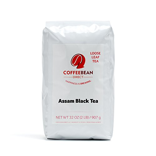 Coffee Bean Lead Assam Loose Leaf Tea, 2 Pound Bag