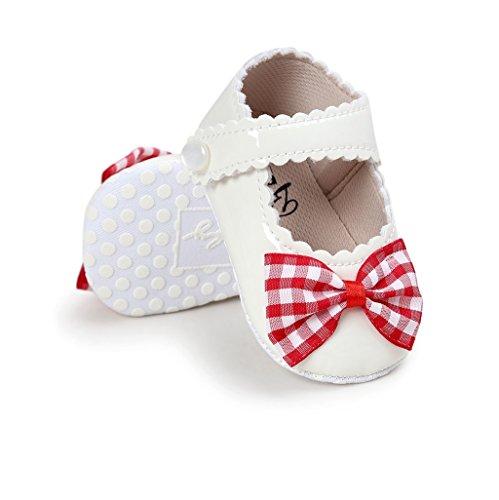 Bowknot De Bebé B Suave Zapatos Cuero Niña Auxma xq1Pn8UWwn