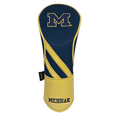 3 Golf Pack Headcovers (Team Effort Michigan Wolverines Fairway Headcover)