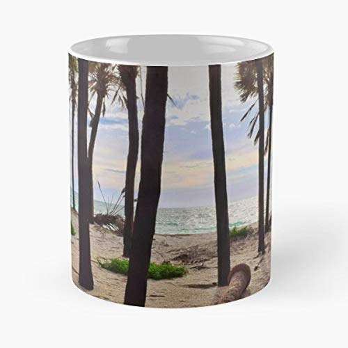 (Beach Ocean Sea Good Vibes - 11 Oz Coffee Mugs Unique Ceramic Novelty Cup, The Best Gift For Holidays.)