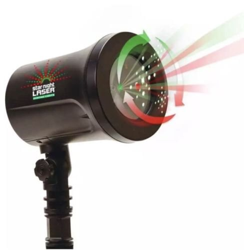 Restonc Star Night Christmas Laser Red/Green Dancing Star Motion Shower 7 Color , As Seen on TV]()