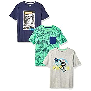 Amazon Brand – Spotted Zebra Boy's Short-Sleeve T-Shirts