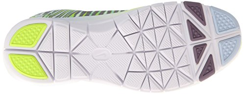 Nike Women Free 5.0 Tr Fit 4 Print Antarctica / Volt / Purple Steel / White