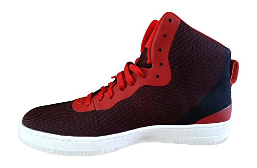 Nike Heren Nsw Pro Stepper Enkelhoge Stof Fashion Sneaker Sportschool Rode Top Wit 600