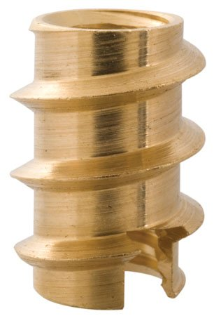 Brass 1 Each 8-32 THD.394 Lg Self Tapping Thread Inserts