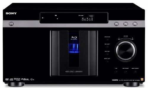 400 Disc Cd Changer (Sony BDP-CX7000ES 400 Blu-ray Disc Mega Changer (Black) (2009 Model))