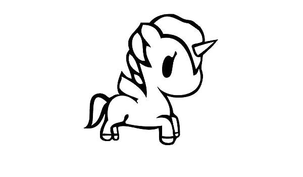 Amazon.com: Leon Online Box Pegasus Rainbow - Cartoon Decal ...