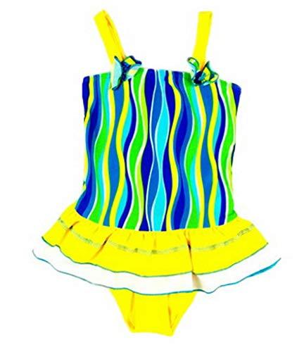 Frutta Di Beachwear Ragazze Sveglia Giallo Blu Vestito Bagno Xiang Ru Ballo ZqqFE