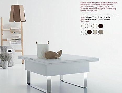 Tavolino Trasformabile In Tavolo Da Pranzo.Ideapiu Idea Tavolini Tavoli Console Trasformabili Tavolino