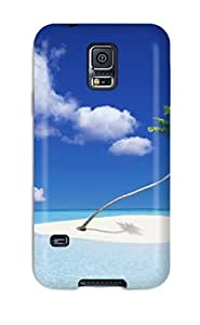 Durable Case For The Galaxy S5- Eco-friendly Retail Packaging(beach) by lolosakes