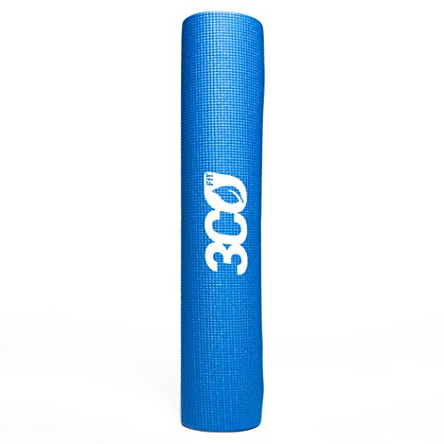 3coFit Blue Yoga Mat All-Purpose 24 x 68 in. (6mm thick), Best for Pilates, Stretching & Toning - Next Buy Day Online Delivery