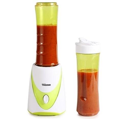 Batidora Tristar BL-4435 – Con jarra que sirve como botella para beber – Volumen: 0,5 litros