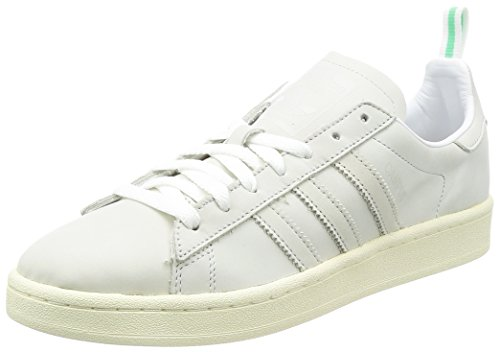 adidas Originals Campus Mens Trainers Sneakers (UK 11.5 US 12 EU 46 2/3, White White Vintage White BZ0065)