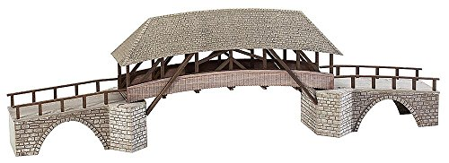 Timber Scale Ho (Faller 120494 Old Timber Bridge HO Scale Building Kit)