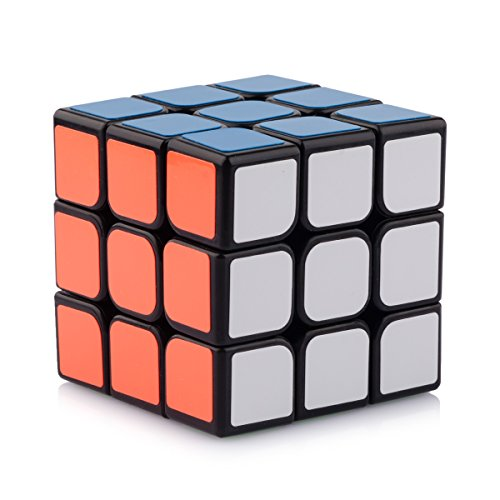 D-FantiX-YJ-Guanlong-Speed-Cube-3x3-Smooth-Magic-Cube-Puzzles-56-mm-Black