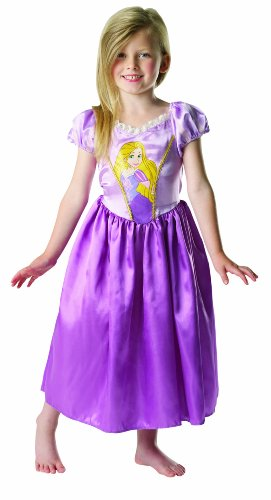 DISNEY PRINCESS RAPUNZEL CLASSIC CHILDRENS FANCY DRESS KID HALLOWEEN COSTUME NEW (Disney Princess Halloween Costumes Uk)
