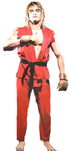 ShonanCos Street Fighter Cosplay Costume Men's Adult (Red)