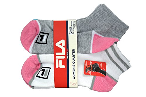Fila Womens 6 Pack Athletic Socks