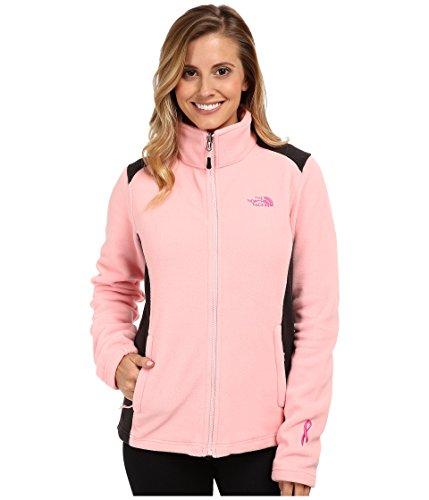 (The North Face Women's Pink Ribbon Khumbu 2 Jacket Pink/Black Size Small )