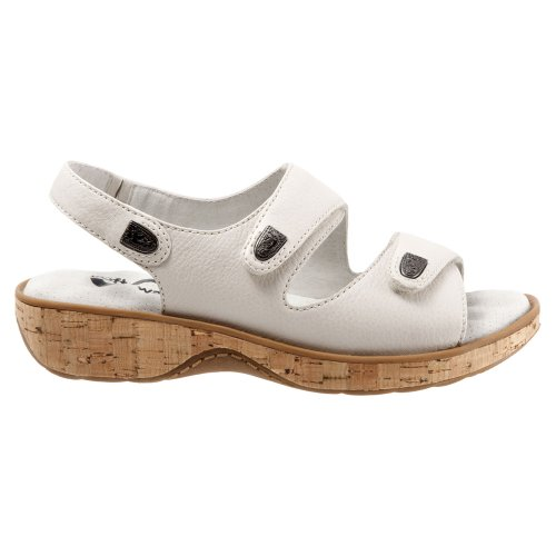 Off Sandal Wedge Women's Bolivia Softwalk White PqTAzx
