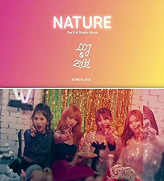 NATURE - NATURE [SOME&LOVE] 2nd Single Album CD+PhotoBook+PhotoCard+
