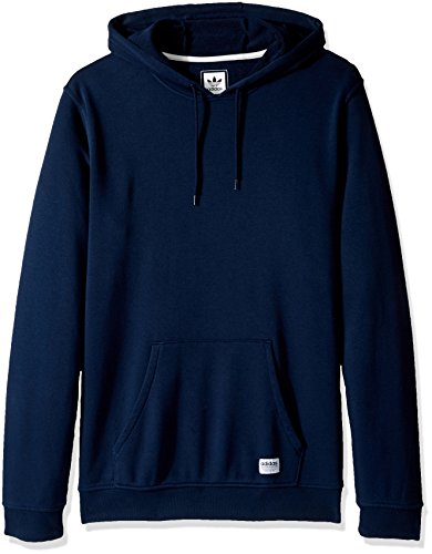 (adidas Originals Men's Outerwear Skateboarding Hoodie, Collegiate Navy/Garment Dye, Medium)