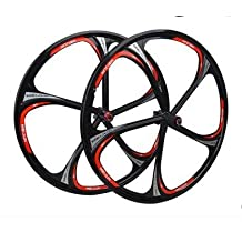 Whool MTB mountain bike bearing hub six hole wheel disc magnesium aluminum alloy wheels wheelset