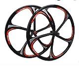 Whool MTB mountain bike bearing hub six hole wheel disc magnesium aluminum alloy wheels wheelset