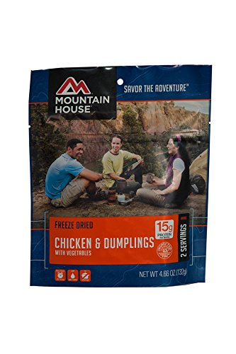 Mountain House Chicken and Dumplings with Vegetables, Pouch (Good Date Meals To Cook At Home)