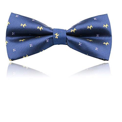 Th Del Camicia Farfallino Blu Degli Casuale Uomini Selvaggia Vestito Twill Manifestazione Modo Nozze Di Della rwnraAx