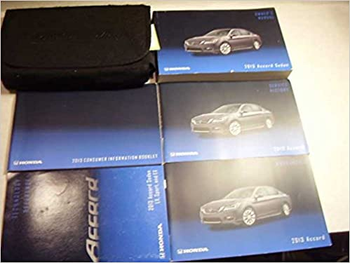 Amazon 2013 honda accord sedan owners manual honda books fandeluxe Choice Image