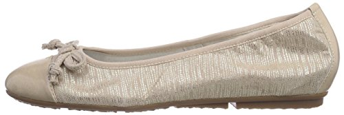 Closed Multicolour 949 22119 Ballerinas Tamaris Women's gold EP1Ccqw