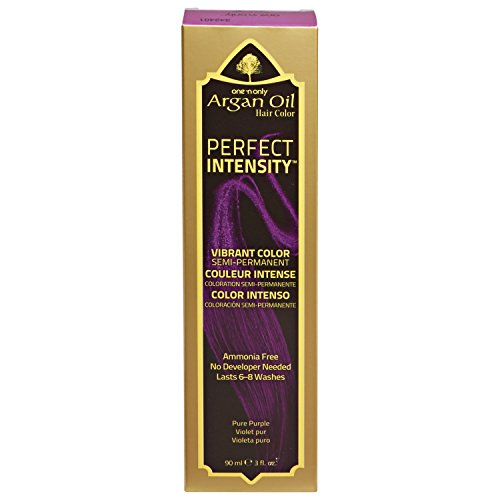 One 'n Only Perfect Intensity Pure Purple Semi Permanent Hair Color Pure Purple