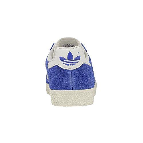 Adidas Mens Gazzella Superfine Originali Scarpa Casuale Blu / Vinwht / Goldmt
