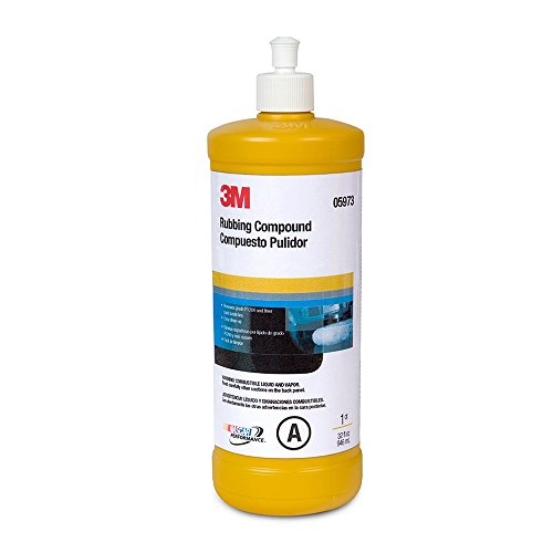 3M 05973 Rubbing Compound - 1 Quart (Best Auto Rubbing Compound)