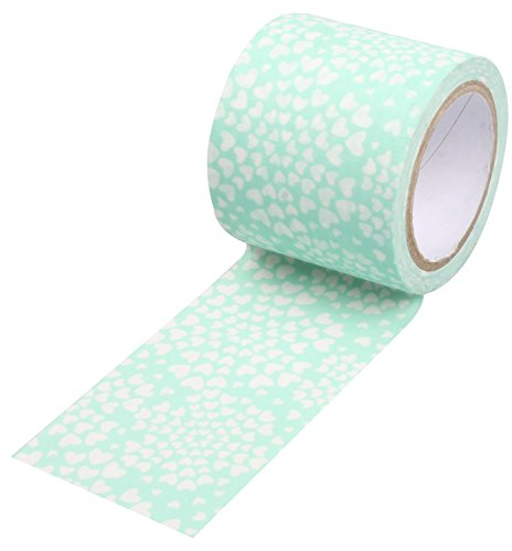 sunnytree-fashionable-adhesive-paper-blue-washi-tape-for-diy-blue-heart
