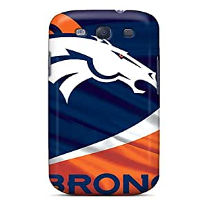 STCentralRoom Case Cover For Galaxy S3 - Retailer Packaging Denver Broncos Protective Case