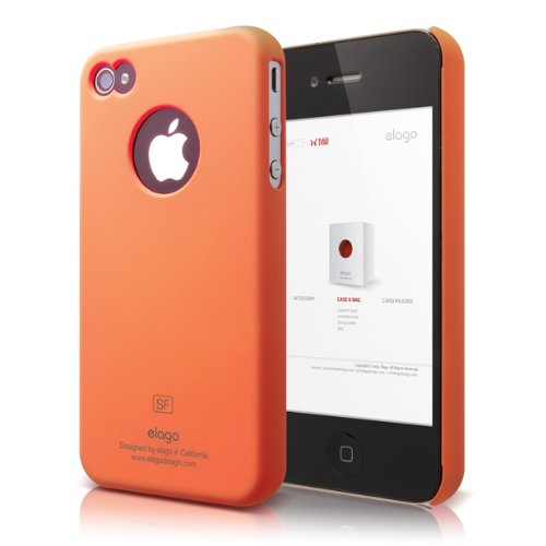 Elago S4 Slim Fit Case for AT&T and Verizon iPhone 4/4S w...