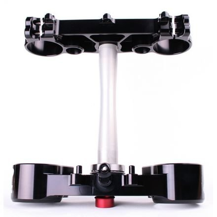 Ride Engineering Billet Triple Clamp Set 22mm Offset Black - Fits: Honda CRF250R (Ride Engineering Triple Clamps)