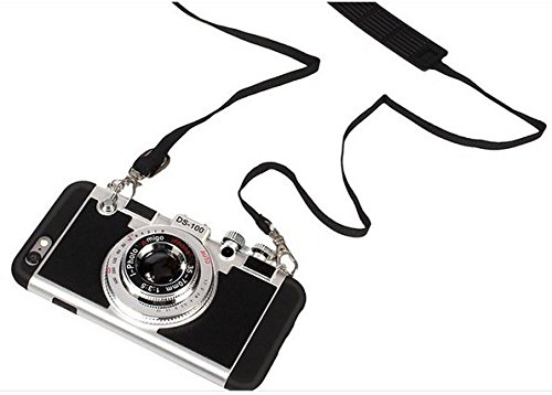 pretty nice a6644 65b2a 2016 New Cool 3D Vintage Camera Phone Case Korean Style Fashion Luxury New  Brand Funda Plastic Camera Cover For Apple iPhone 6Plus/6s Plus 5.5 inch ...