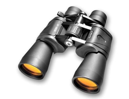 BARSKA Binoculars AB10169 10-30X50 Zoom, Gladiator, Ruby Len